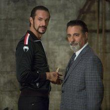 Bastardi in divisa: James D'Arcy con Andy Garcia in una scena del film