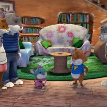 Topo Tip: una scena della serie animata