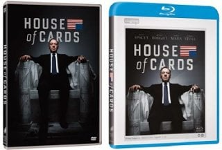 Le cover homevideo di House of Cards - Stagione 1