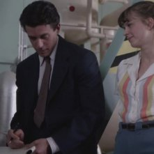 Manhattan: un momento dell'episodio The New World cno Ashley Zukerman