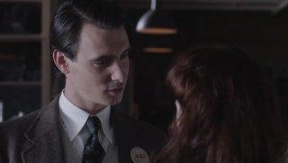 Manhattan: Harry Lloyd nell'episodio The New World