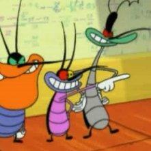 Oggy e i maledetti scarafaggi: una sequenza della serie