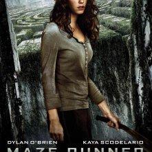 Maze Runner - Il labirinto: il character poster italiano di Teresa, interpretata da Kaya Scodelario