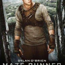 Maze Runner - Il labirinto: il character poster italiano di Thomas, interpretato da Dylan O'Brien