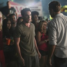 The Vampire Diaries: Michael Trevino in una scena dell'episodio I'll Remember