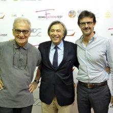 RFF 2014: Carlo Freccero con Sergio Salvi e Mario Gianani al convegno Presente e futuro della fiction italiana