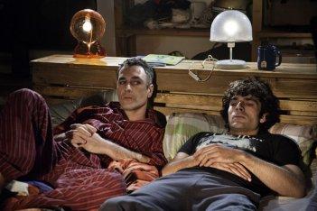 Raoul Bova con Luca Argentero sono Fratelli Unici