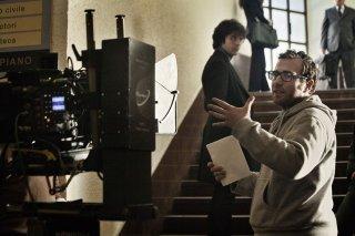 Fratelli Unici: il regista del film Alessio Maria Federici in un'immagine dal set