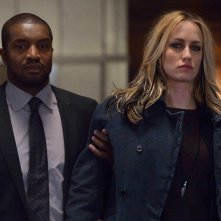 The Strain: Roger Cross insieme a Ruta Gedmintas nell'episodio Loved Ones