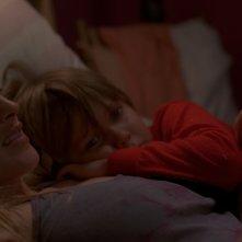 Boyhood: una bella immagine di Patricia Arquette col piccolo Ellar Coltrane