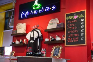 Friends - il pop-up store di Central Perk a New York