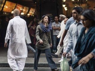 Homeland: Claire Danes in un'immagine della quarta stagione