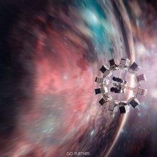 Il warmhole teaser poster internazionale di Interstellar