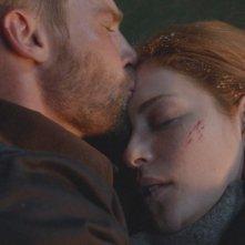 Under the Dome: Mike Vogel con Rachelle Lefevre nell'episodio Black Ice