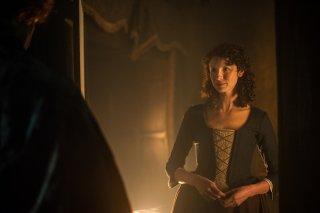 Outlander: Caitriona Balfe nell'episodio Rent