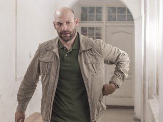 Homeland: un'immagine di Corey Stoll nell'episodio The Drone Queen