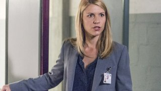 Homeland: una scena con Claire Danes nell'episodio The Drone Queen