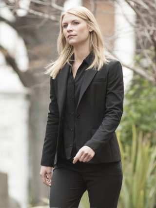 Homeland: Claire Danes in una scena dell'episodio Trylon and Perisphere