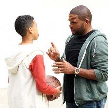 Black-ish: Anthony Anderson insieme a Marcus SCribner nella premiere della serie
