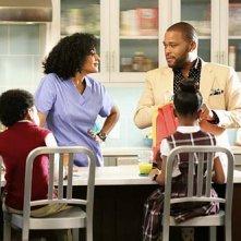 Black-ish: Anthony Anderson, Tracee Ellis Ross, Miles Brown e Marsai Martin nella premiere della serie