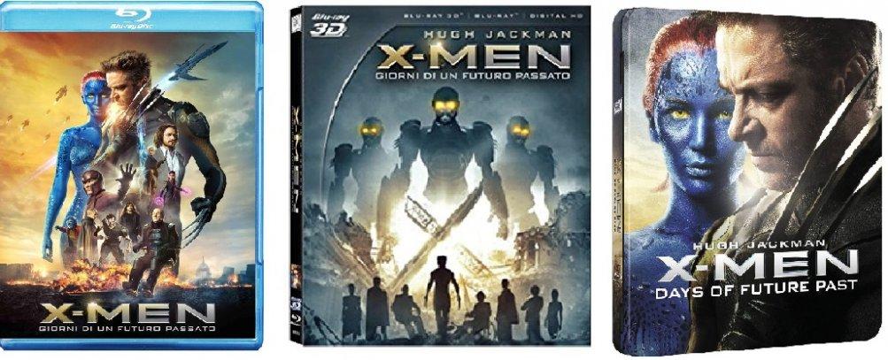 Le cover homevideo di X-Men: Giorni di un futuro passato