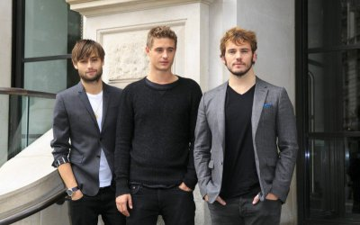 Posh: Max Irons, Sam Claflin e Douglas Booth approdano a Roma