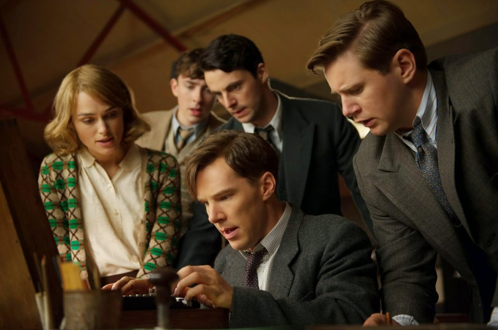 The Imitation Game: una scena del film