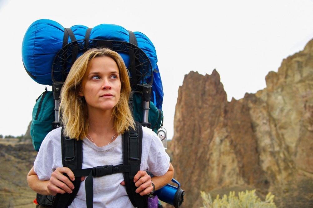 Wild: Reese Witherspoon in una scena del film