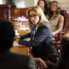 Madam Secretary: Tea Leoni in un momento della premiere della serie