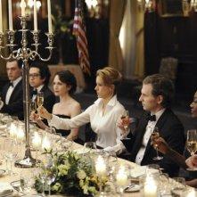 Madam Secretary: Tea Leoni in una scena della premiere