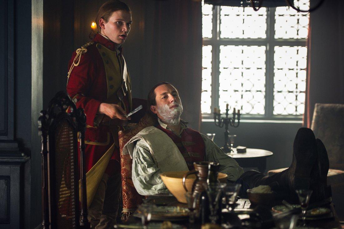 Zap Outlander Season 1 Episode 6 The Garrison 008