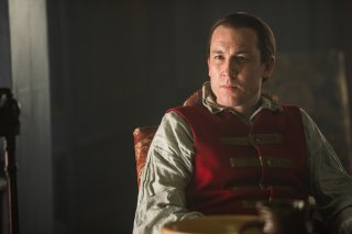 Outlander: Tobiaz Menzies nell'episodio The Garrison Commander