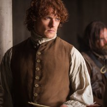 Outlander: Sam Heughan nell'episodio The Wedding