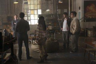 Scorpion: una scena della premiere della serie
