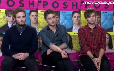 Video-intervista a Max Irons, Sam Claflin e Douglas Booth
