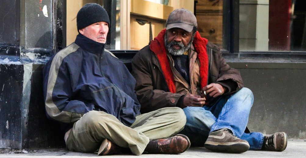 Richard Gere homeless in Time Out of Mind