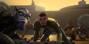 Star Wars Rebels: un momento della premiere