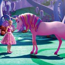 Una scena di Barbie e il Regno Segreto