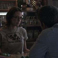 L'amore bugiardo - Gone Girl: Carrie Coon e Ben Affleck in una scena