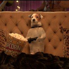 Pongo il cane milionario: Pongo gioca alla Playstation in una scena del film