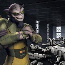 Star Wars Rebels: una scena della premiere