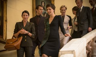The Honourable Woman: Maggie Gyllenhaal in una scena