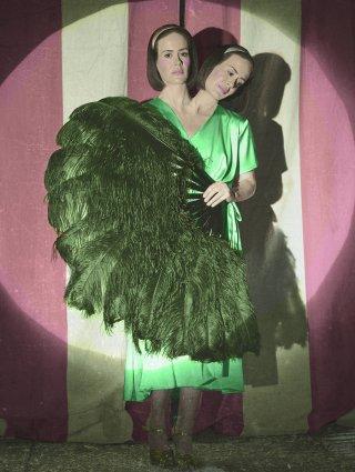 American Horror Story: Sarah Paulson in un'immagine promozionale per Freak Show, quarta stagione