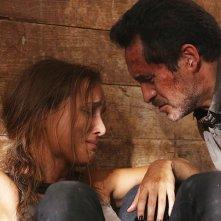 The Bridge: Demian Bichir insieme a Jenny Pellicer nell'episodio Quetzalcoatl