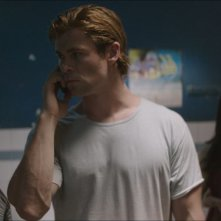 Chris Hemsworth in una scena di Blackhat