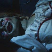 Annabelle: Annabelle, la bambola malefica, in una scena dell'horror