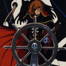 Una scena tratta da Capitan Harlock - L'Arcadia della mia giovinezza