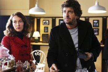 Soap Opera: Cristiana Capotondi con Fabio De Luigi in una scena del film