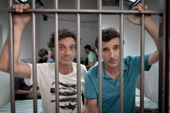 Ficarra e Picone in una foto promozionale di Andiamo a quel paese