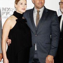 L'amore bugiardo - Gone Girl: Ben Affleck con Rosamund Pike sul red carpet del 52° NYFF